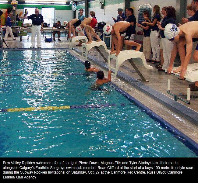 Subway Rockies Results Bow Valley Riptides Swim Club